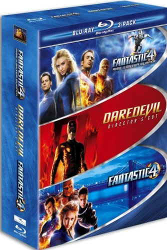 Marvel Blu-ray 3-Pack (Fantastic Four / Fantastic Four
