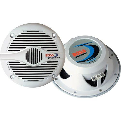 Boss MR60W 6.5-Inch 2-Way Marine Speakers (White)