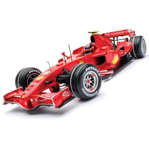 F2007 Ferrari F1 Kimi Raikkonen Metallic Red 1:18
