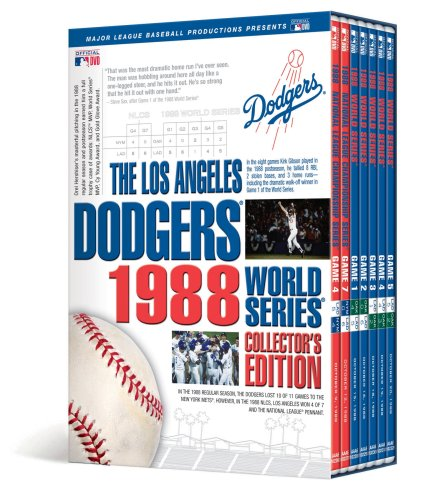 Los Angeles Dodgers 1988 World Series Collector's