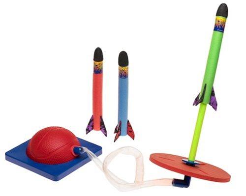 Geospace Jump Rocket - Launcher and 3 Rocket Set