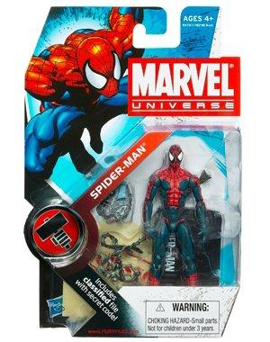 "Marvel Universe 3 3/4"" Action Figure Spider-Man [House"