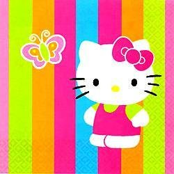 Hello Kitty Lunch Napkins 16ct