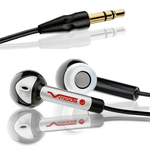 V-MODA Bass Freq Earbuds (Bling Bling Black)