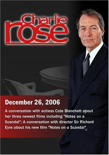 Charlie Rose with Cate Blanchett; Richard Eyre