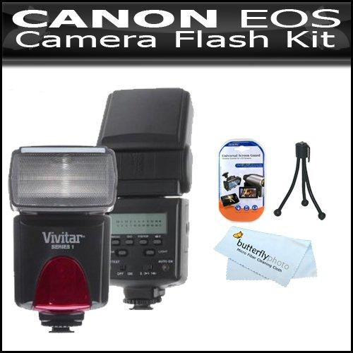 Canon EOS 7D 18 MP CMOS Digital SLR Camera Flash Kit