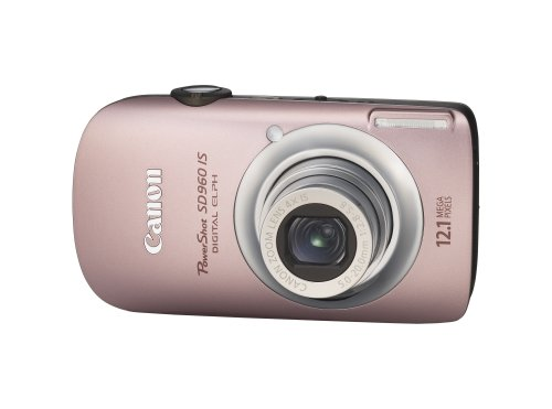 Canon PowerShot SD960IS 12.1 MP Digital Camera with 4x