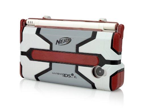 DSiXL Nerf Armor - Red/Light Grey Nintendo DS