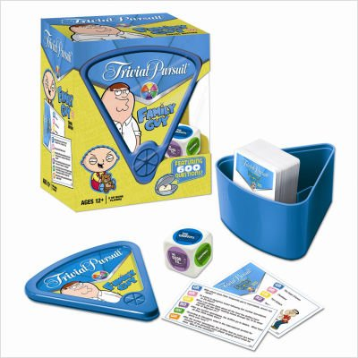 Usaopoly Family Guy Trivia Pursuit (Travel Play