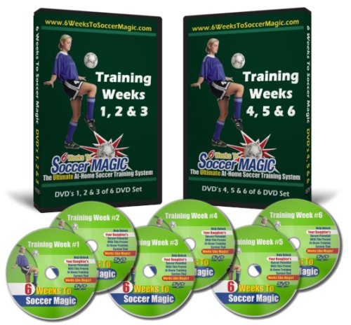 6 Weeks To Soccer Magic 6-DVD Home Soccer Training