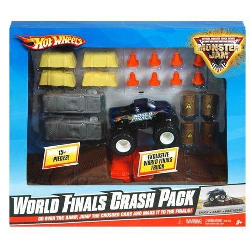 Hot Wheels Monster Jam World Finals Crash Pack