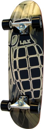 "LAX Super Cruiser Pineapple Complete Skateboard - 8.9"""