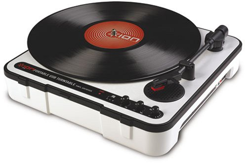 Ion Audio iPTUSB Portable USB Turntable with Software