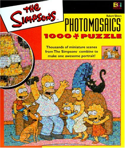 Simpsons Photomosaic Family Jigsaw Puzzle 1026pc