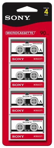Sony MC90R/4 90-Minute Cassette Recorders (Micro
