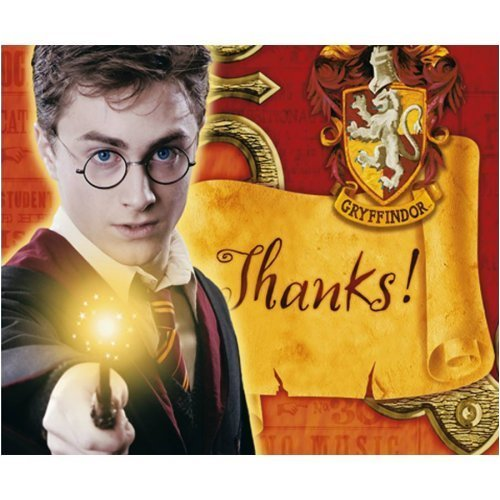 Harry Potter Thank You Notes 8ct