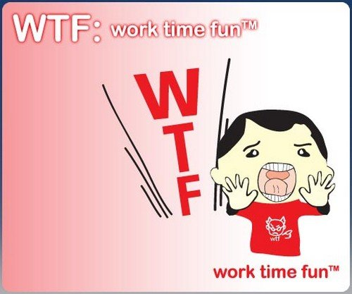 WTF: work time fun [Online Game Code] Sony PSP