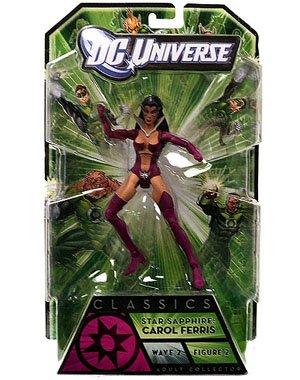 Green Lantern Classics Star Saphire Collectible Figure