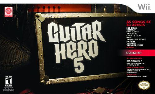 Wii Guitar Hero 5 Guitar Bundle Wii