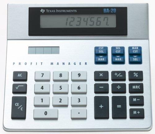 Texas Instruments Profit Manager BA-20 Desktop