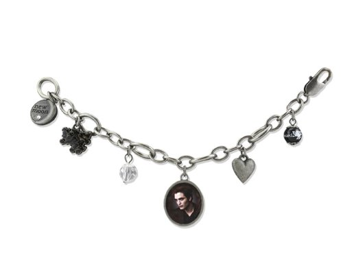 "Twilight New Moon ""Edward"" Chunky Charm Bracelet"