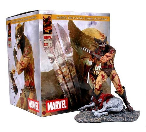 Marvel Zombies: Wolverine Statue