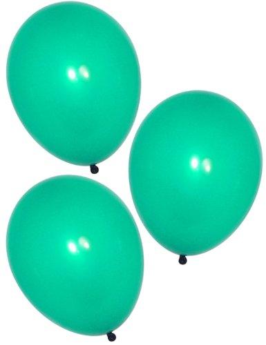 "11"" Latex Emerald Green Balloons (144 pcs)"
