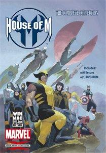 Marvel Comics House of M Collectors Edition DVD (Git