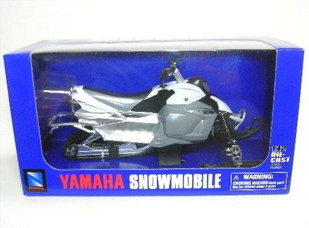 Yamaha Fx Phazer 2007 (Blue) 1:12 Diecast Snowmobile