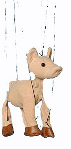 Sunny Puppets Pig Marionette - Baby