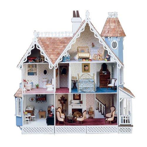 Dollhouse Miniature The McKinley Dollhouse by