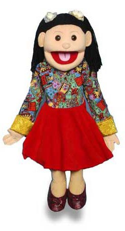 "Sunny Puppets 28"" Hispanic Girl Puppet"