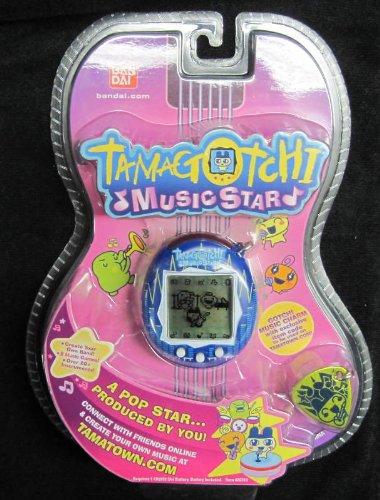 Tamagotchi Music Star V6 Exclusive Blue Sound Blast