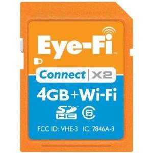 Eye-Fi Connect X2 4 GB Class 6 SDHC Wireless Windows XP