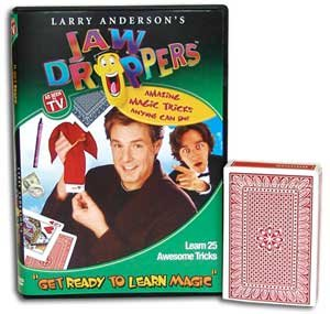 Get Ready to Learn Magic DVD w/ Cards