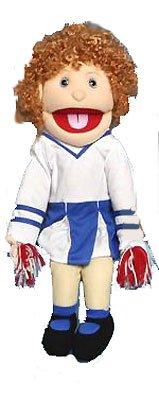 "Sunny Puppets 28"" Girl - Cheerleader Puppet"