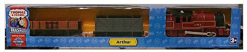 Thomas & Friends Trackmaster Arthur and 2 Cars