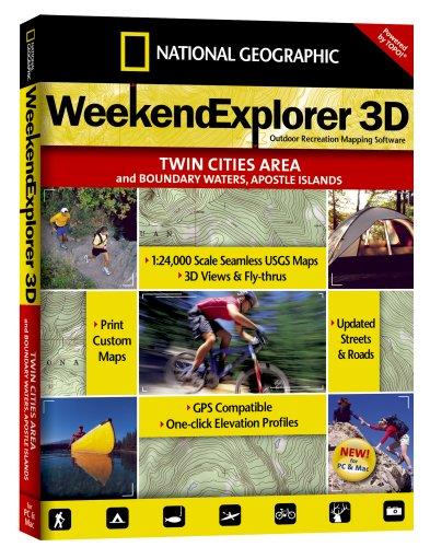 National Geographic TOPO! Weekend Explorer Windows 2000
