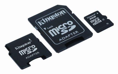 Kingston 8 GB microSDHC Class 4 Flash Memory Windows