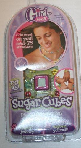 Girl Tech Sugar Cubes Digital Charms Icons