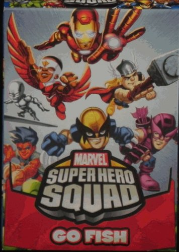 Marvel Super Hero Squad Go Fish Card Game