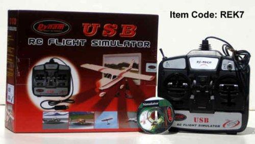 USB Flight Simulator 6 Channel Remote Control Training