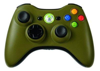 GREEN XBox 360 Halo FULL Controller Shell Xbox 360