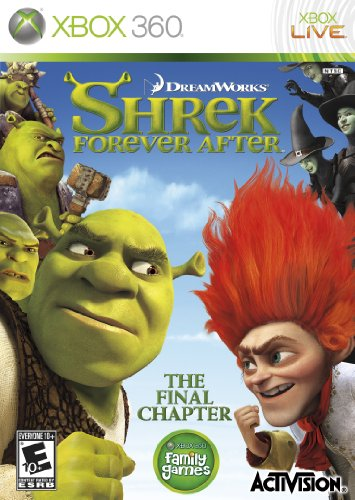 Shrek4 Forever After Xbox 360
