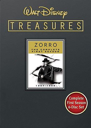 Walt Disney Treasures: Zorro - The Complete First