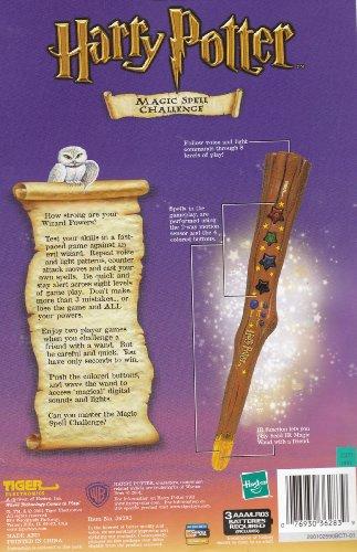 Harry Potter Magic Spell Challenge