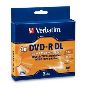 Verbatim 95165 8.5 GB 2x-4x Double Layer Windows