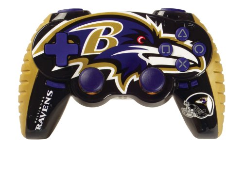 Playstation 3 Baltimore Ravens Wireless Game Pad PS3