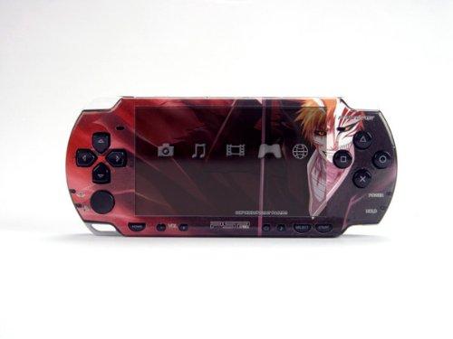 BLEACH PSP (Slim) Dual Colored Skin Sticker, Sony PSP