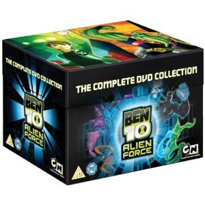 BEN 10 ALIEN FORCE - THE COMPLETE COLLECTION [NON-USA